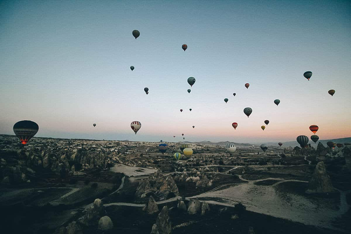 Flying High over Cappadocia at Dawn with Voyager Balloons