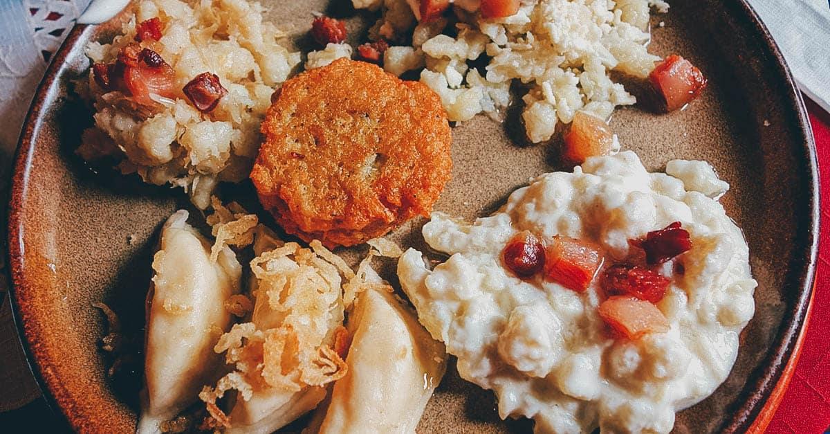 SLOVAKIA: Bryndzové Halušky, a Staple of Slovak Cuisine