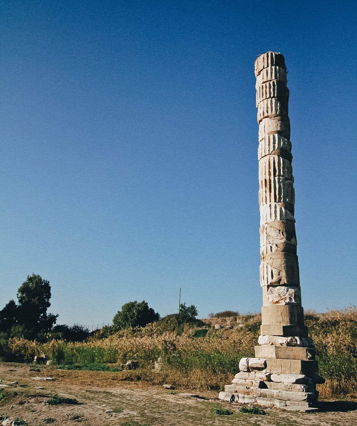 Temple of Artemis, Selçuk-İzmir, Turkey