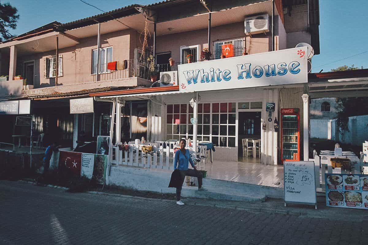 White House Restaurant & Cafe, Pamukkale, Turkey