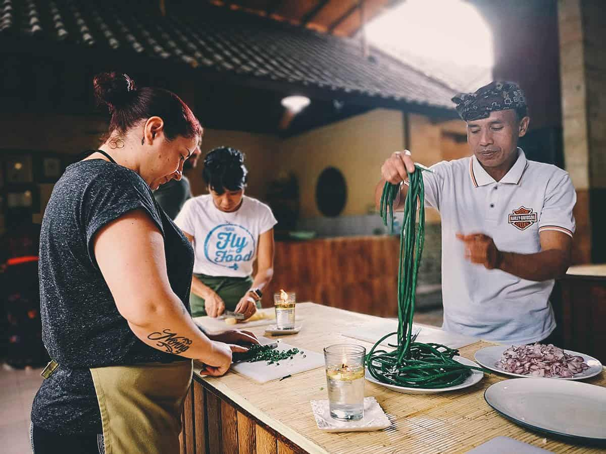 Cooking class in Ubud, Bali Indonesia