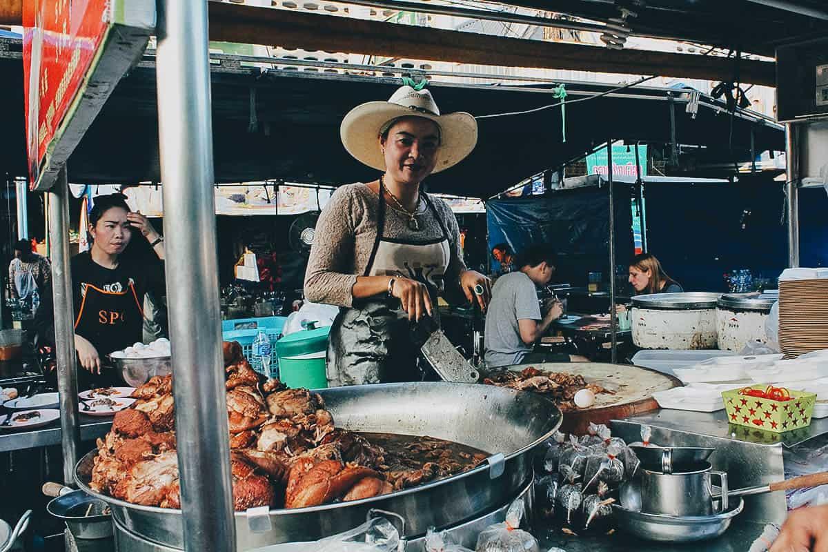 Khao Kha Moo Chang Phueak, Chiang Mai, Thailand