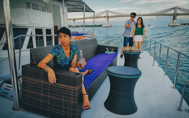 Luxury Sunset Cruise with Dinner and Unlimited Booze in Cebu, Philippines