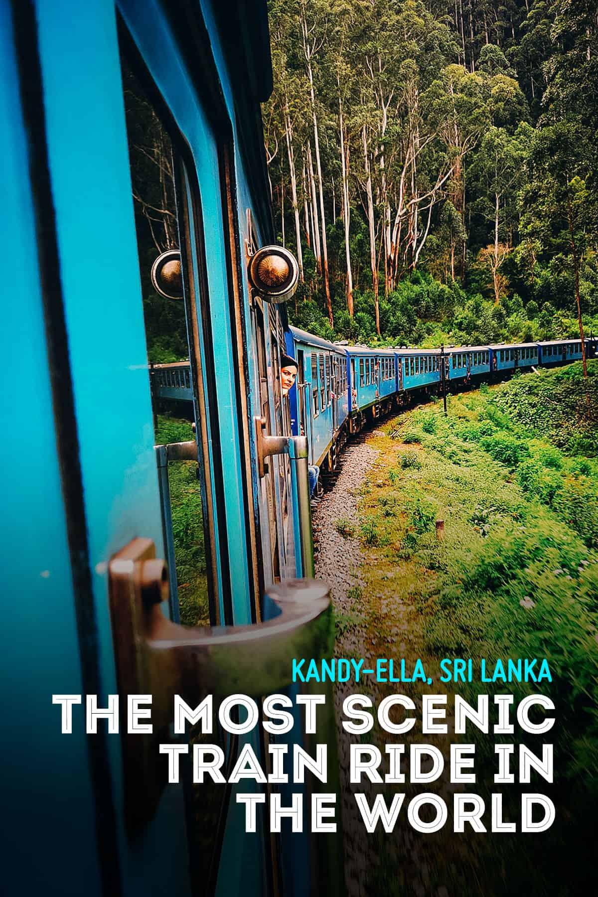 Kandy-Ella train ride