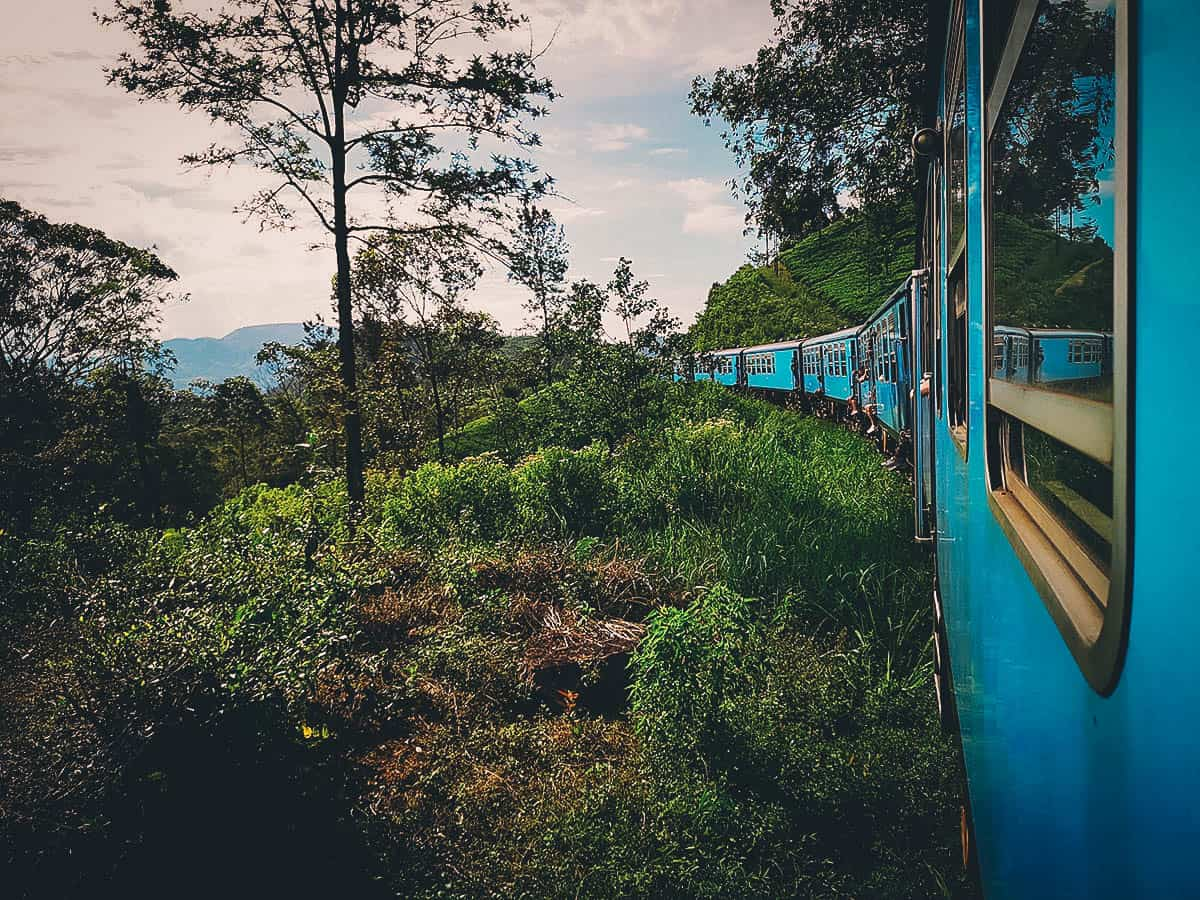Kandy-Ella Train Ride, Sri Lanka