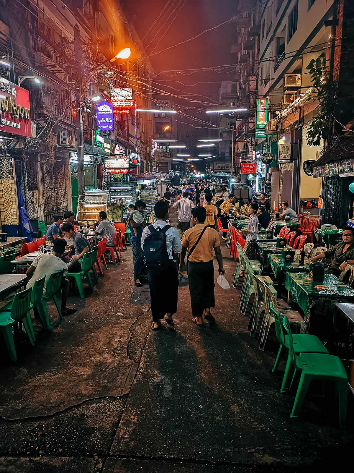 19th Street, Yangon, Myanmar