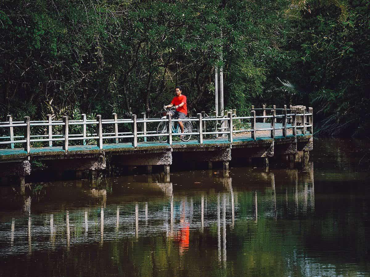 Bang Kachao Park in Bangkok, Thailand