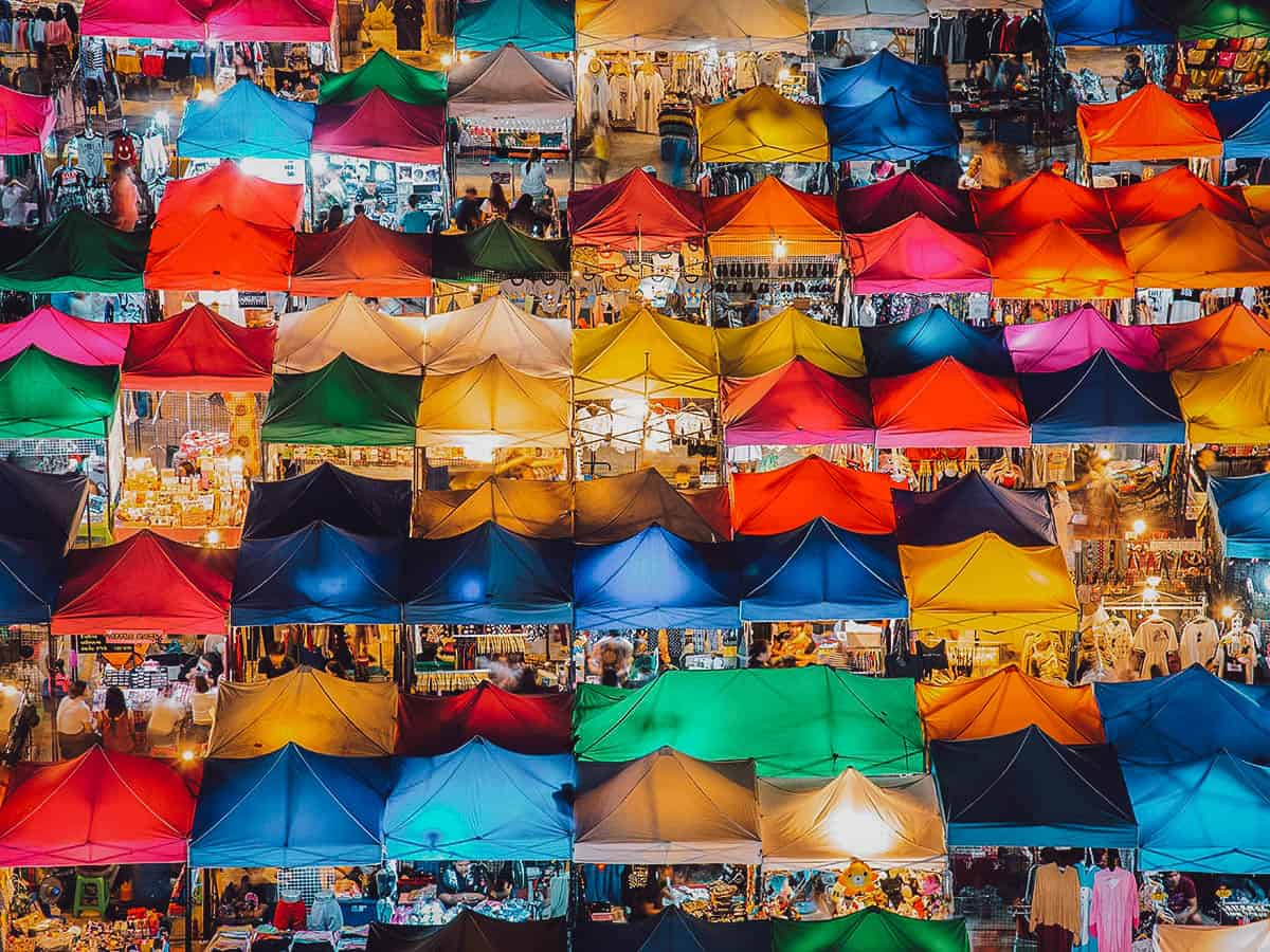 Chatuchak Market in Bangkok, Thailand