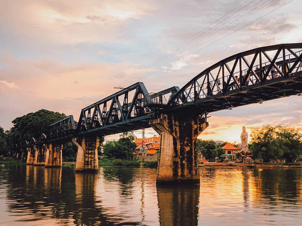 Bridge over River Kwai, Kanchanaburi, Thailand