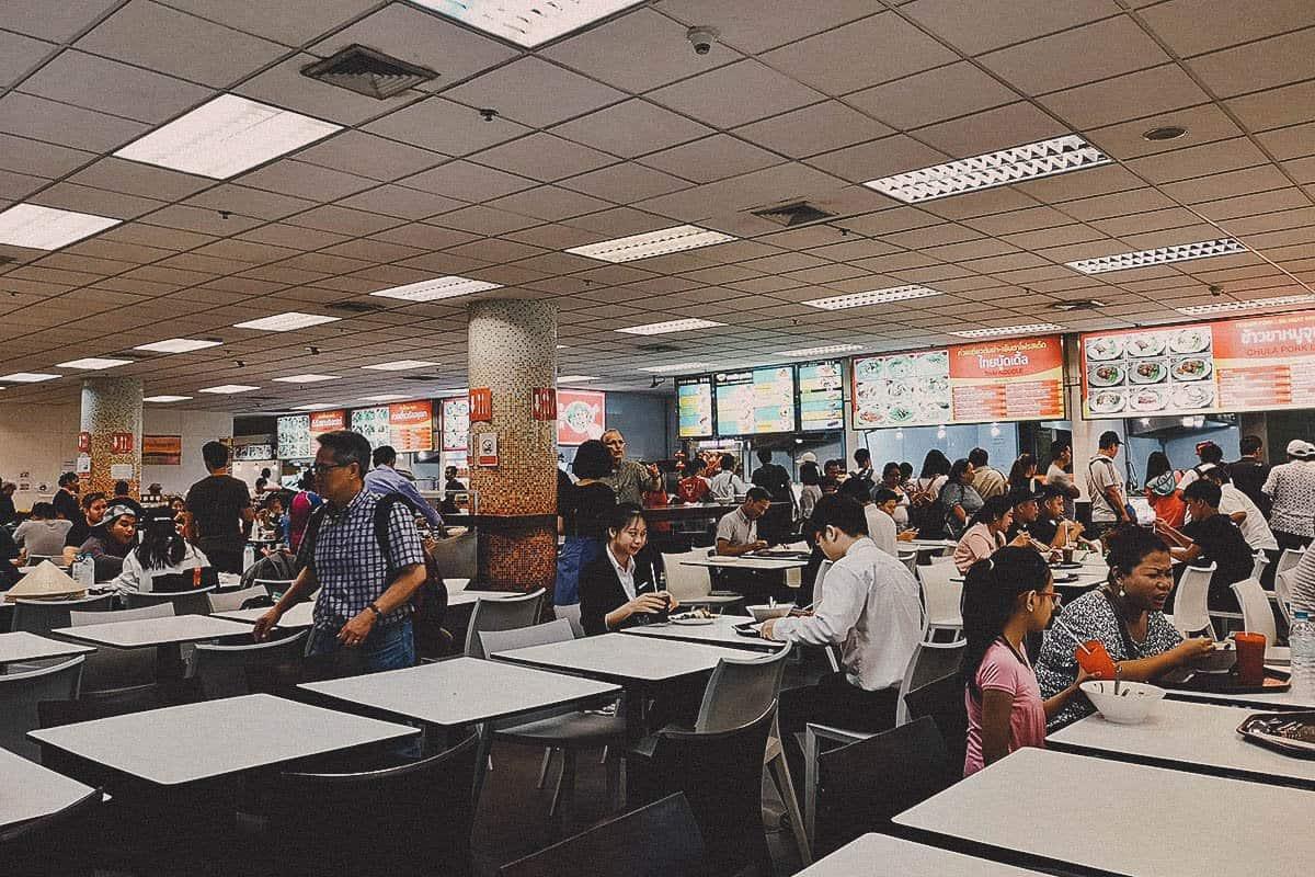 Suvarnabhumi Airport Food Court, Bangkok, Thailand