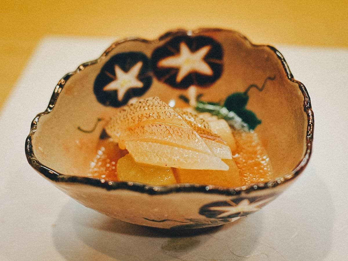 White fish at Iroha