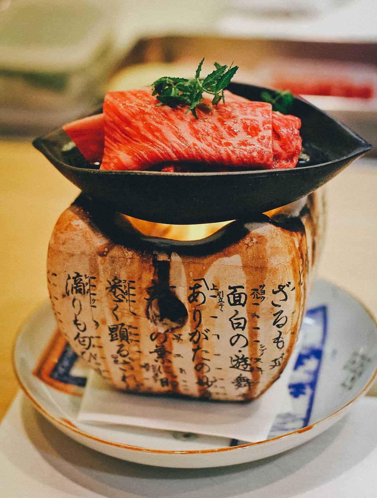 Saga beef at Iroha