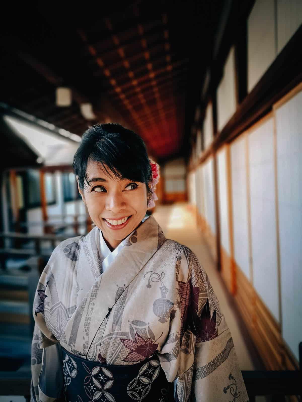 Kimono Rental, Nara, Japan