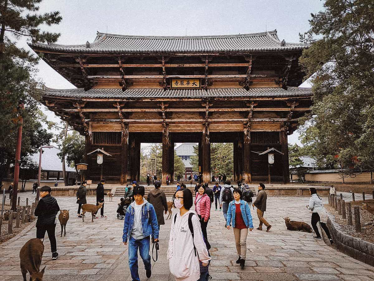 Nandaimon Gate, Todai-ji, Nara, Japan