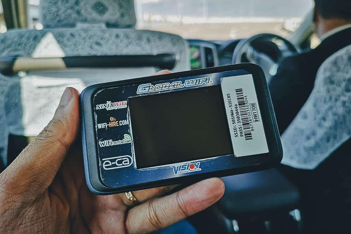 Pocket Wifi Rental, Japan