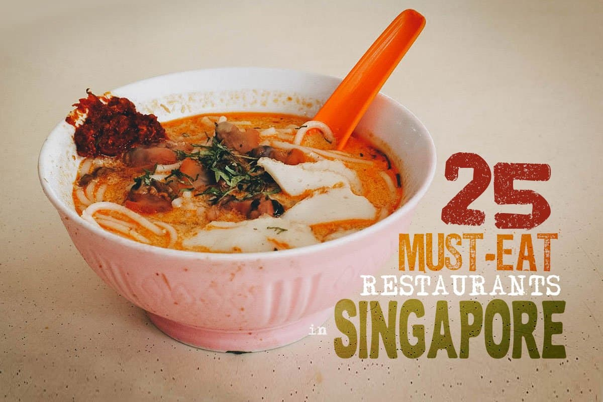 Where to Eat in Singapore: 25 Must-Try Restaurants
