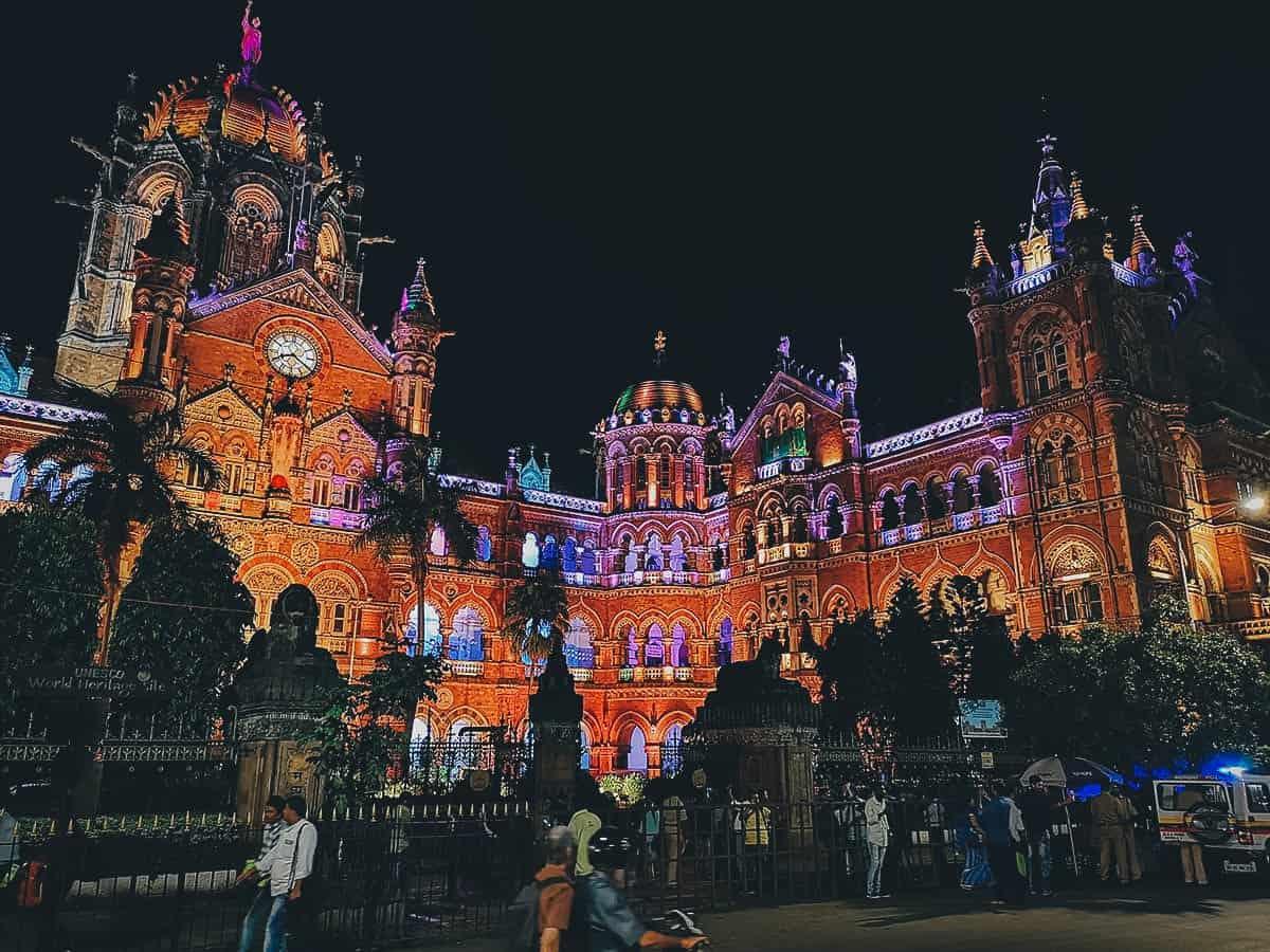 Chhatrapati Shivaji Maharaj Terminus, Mumbai, India