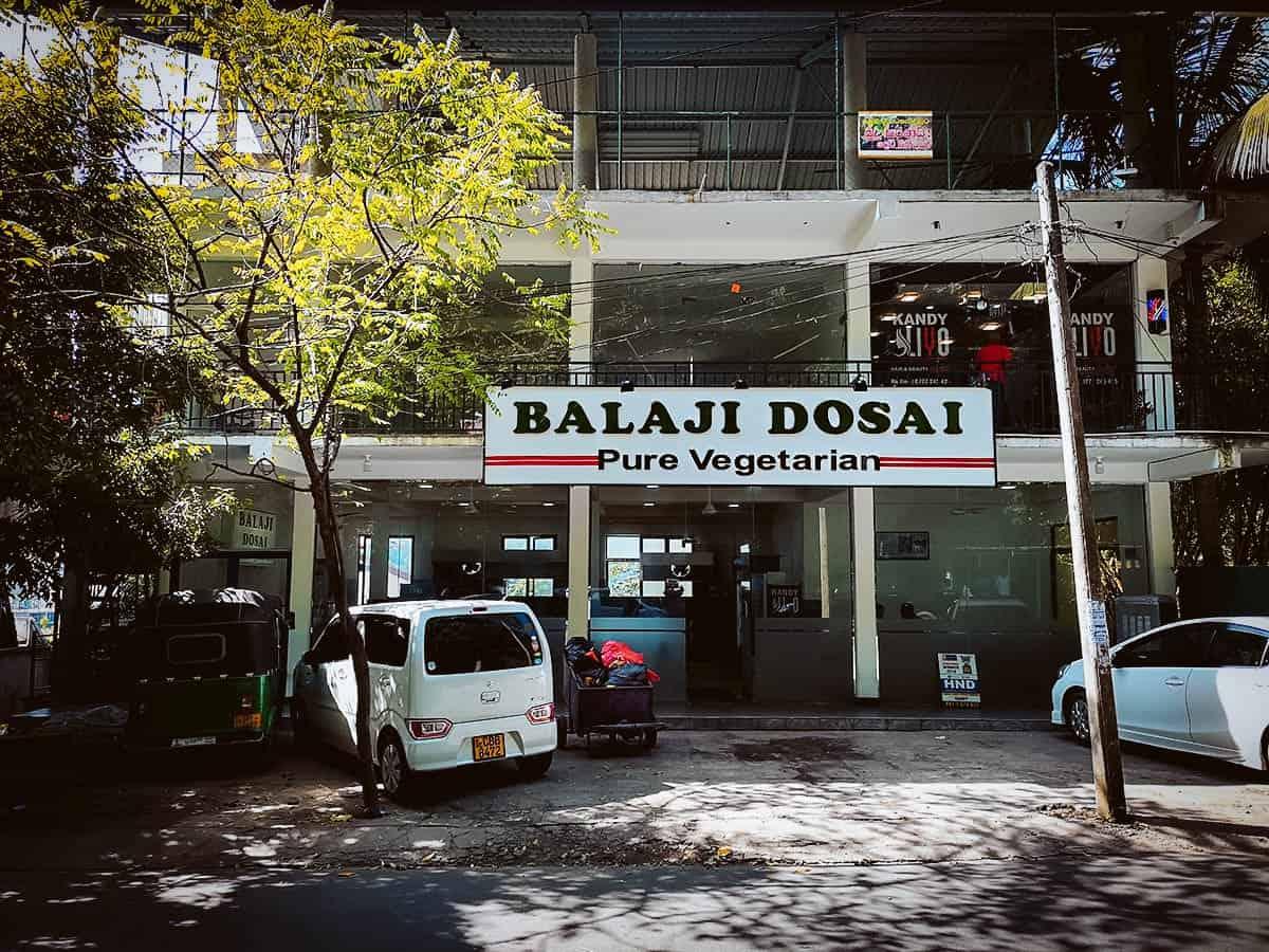 Balaji Dosai, Kandy, Sri Lanka