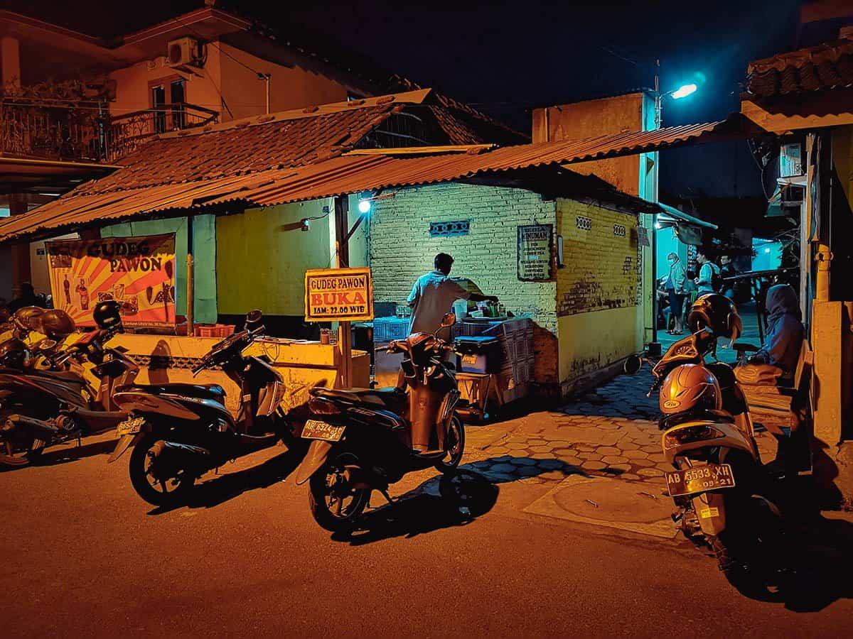 Gudeg Pawon, Yogyakarta, Indonesia