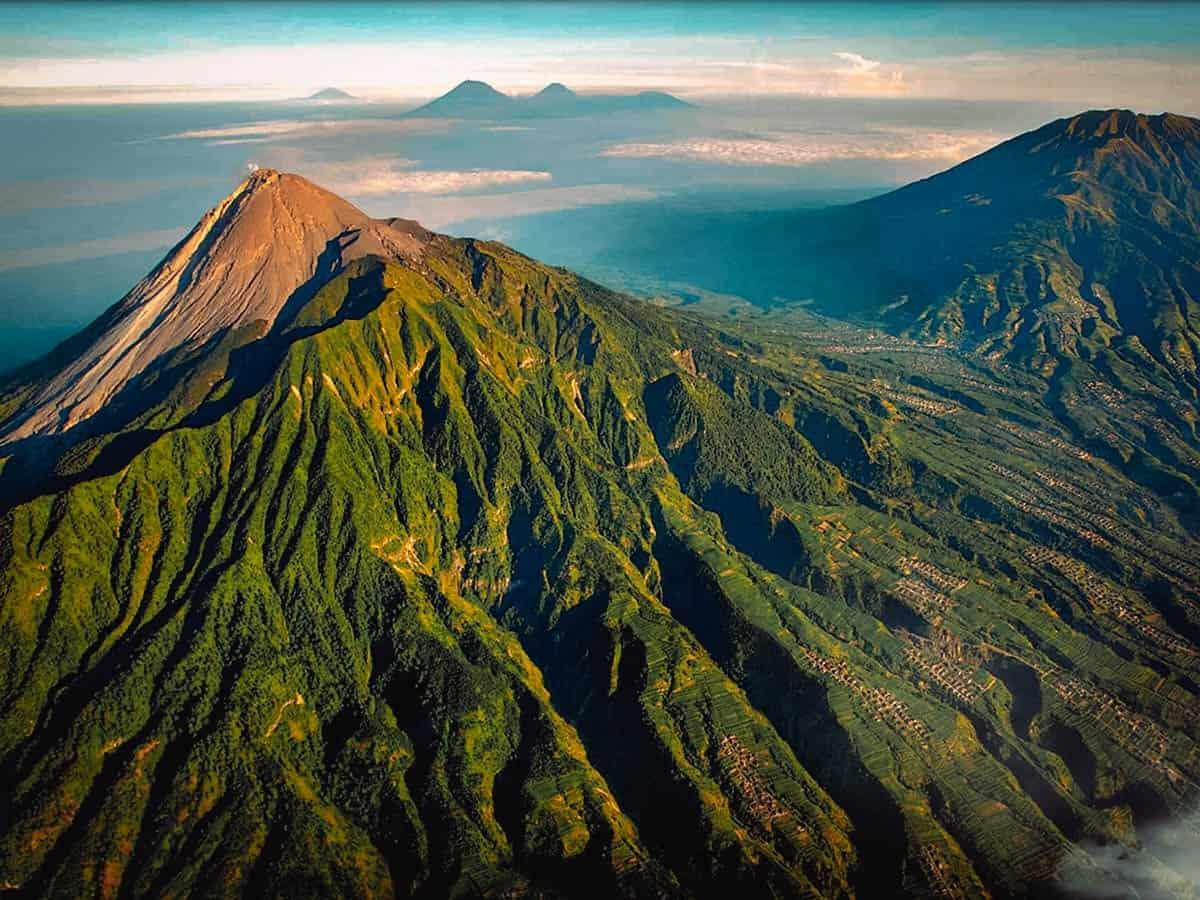 Mount Merapi, Yogyakarta, Indonesia