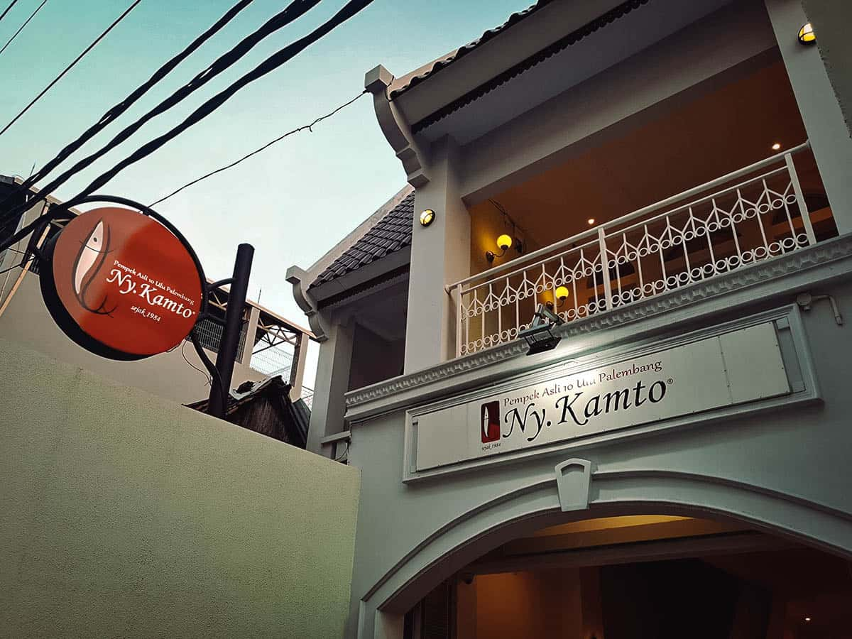 Pempek Ny. Kamto, Yogyakarta, Indonesia
