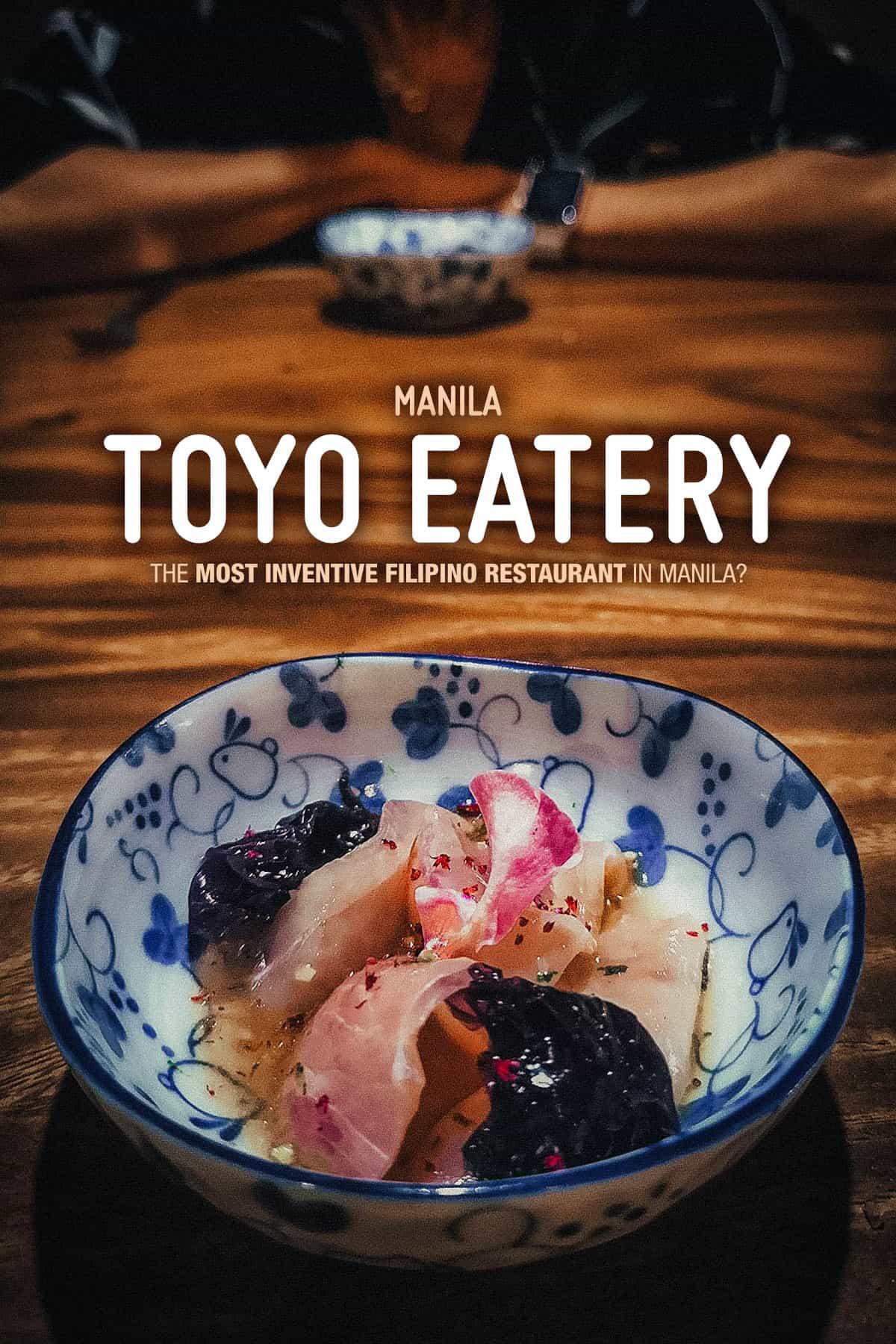 Toyo Eatery, Manila, Philippines