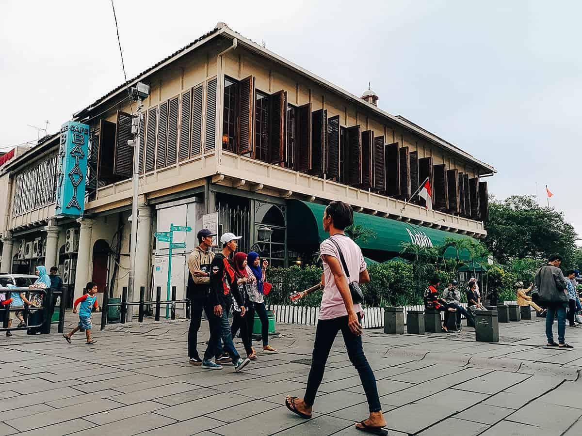 Cafe Batavia, Jakarta, Indonesia