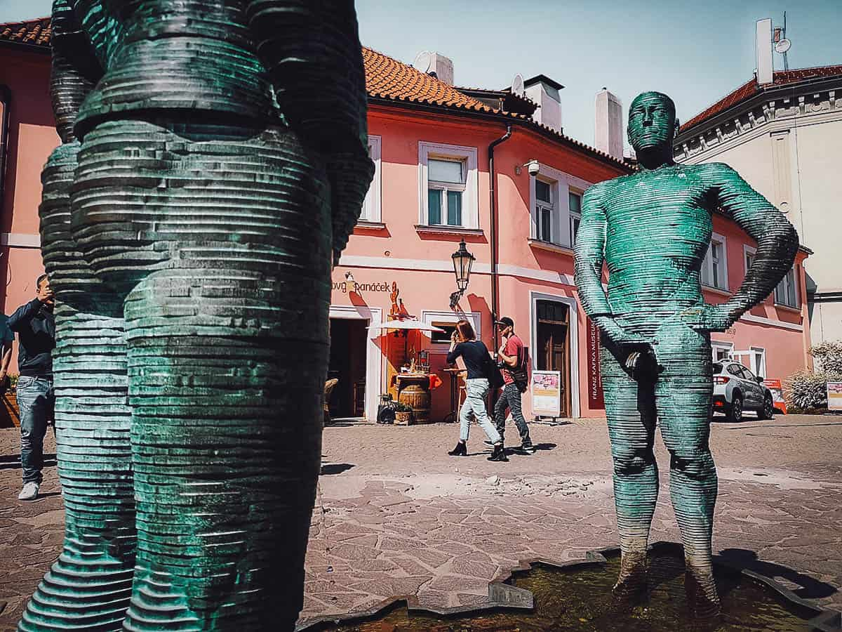 David Cerny: See 9 of His Bizarre Sculptures on this Self-Guided Tour in Prague, Czech Republic
