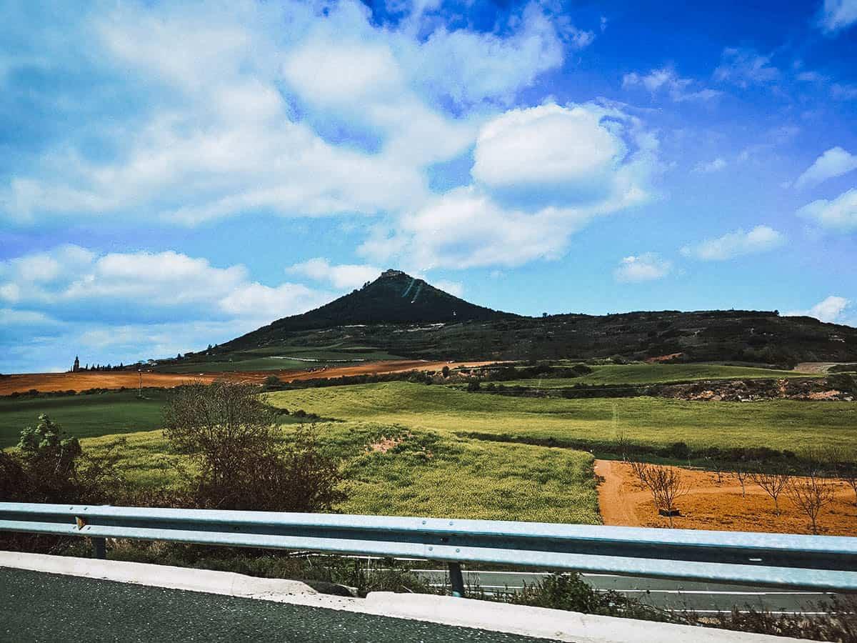 Driving from San Sebastian to Logroño