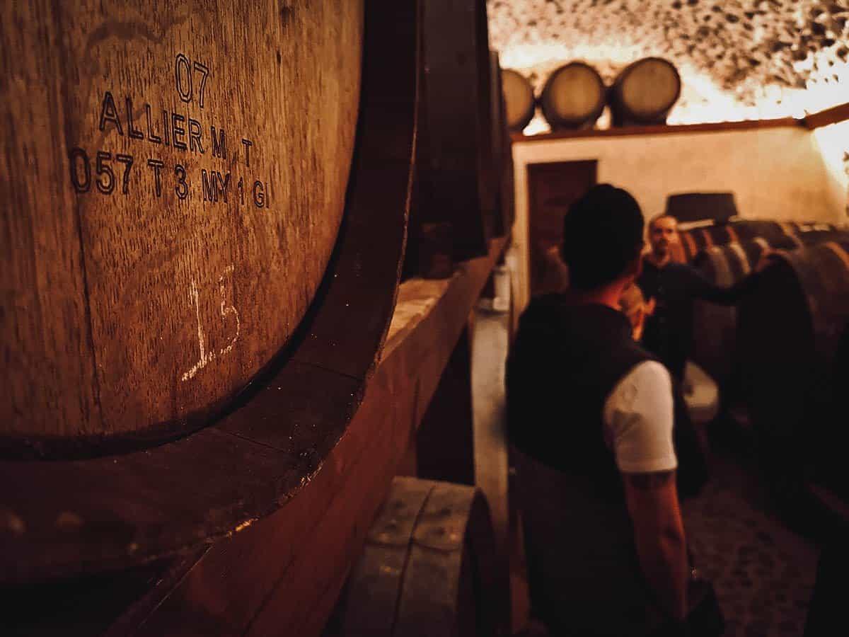 Gavalas Winery, Santorini, Greece