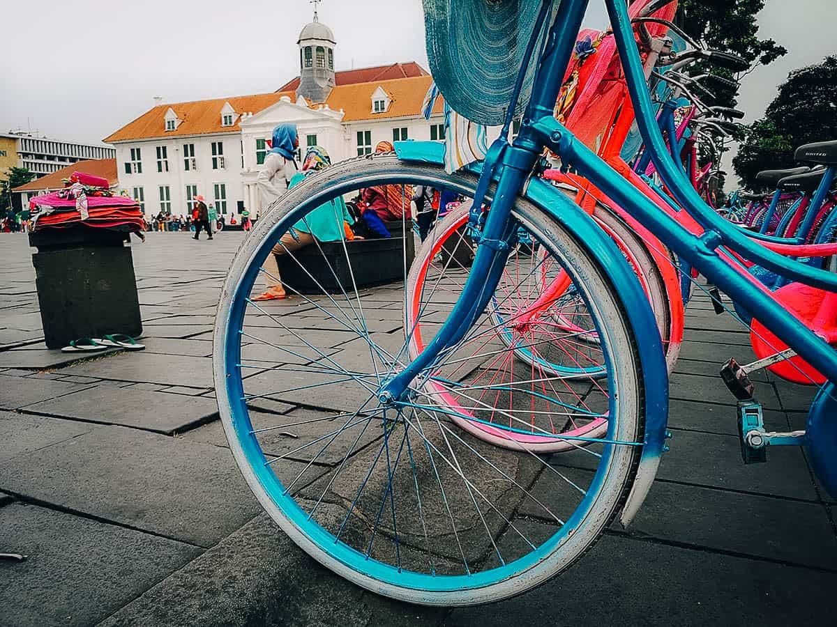 Jakarta Old Town (Kota Tua), Indonesia