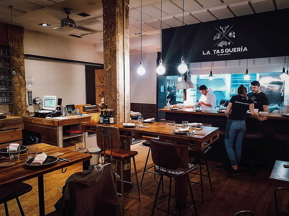 La Tasqueria de Javi Estevez, Madrid, Spain