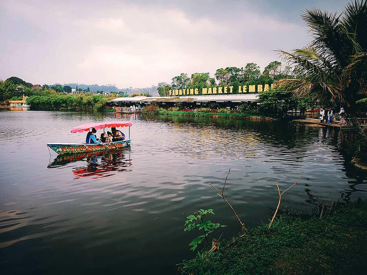Lembang Floating Market, Bandung, Indonesia