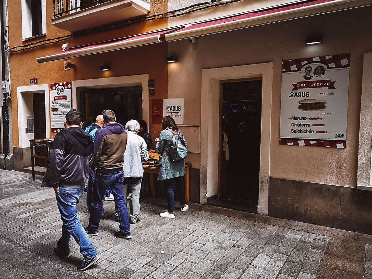 Bars to visit in Logroño, Spain