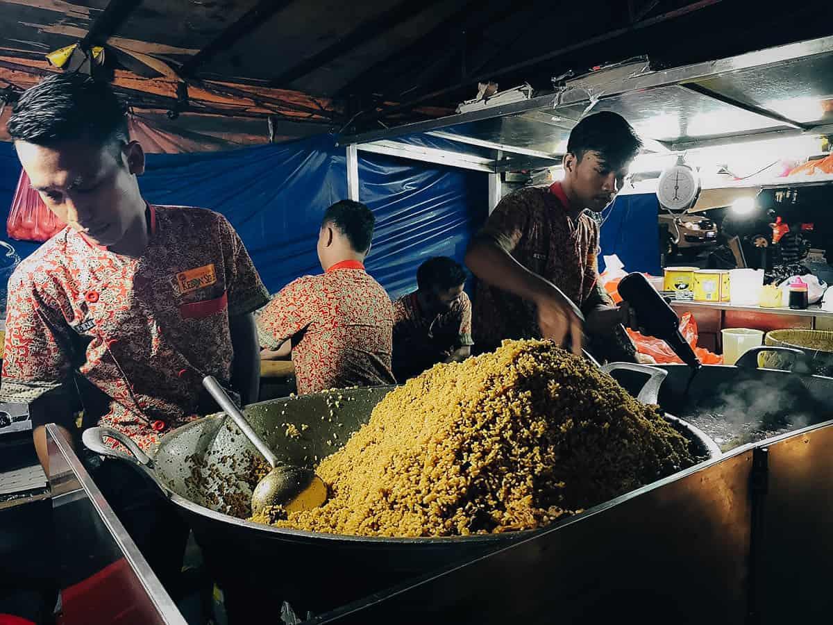 Nasi Goreng Kambing Kebon Sirih, Jakarta, Indonesia