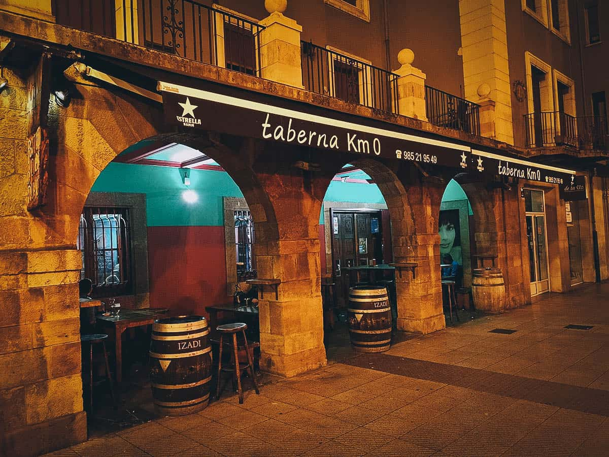 Restaurants to visit in Oviedo, Spain