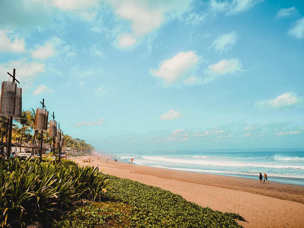 Beaches in Bali, Indonesia