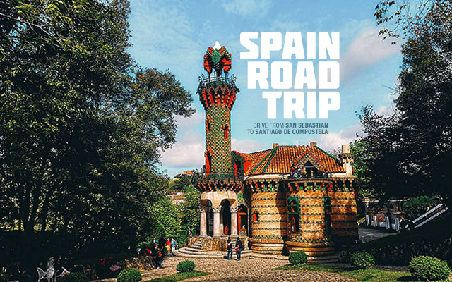 Spain Road Trip: Rent a Car and Drive from San Sebastian to Santiago de Compostela