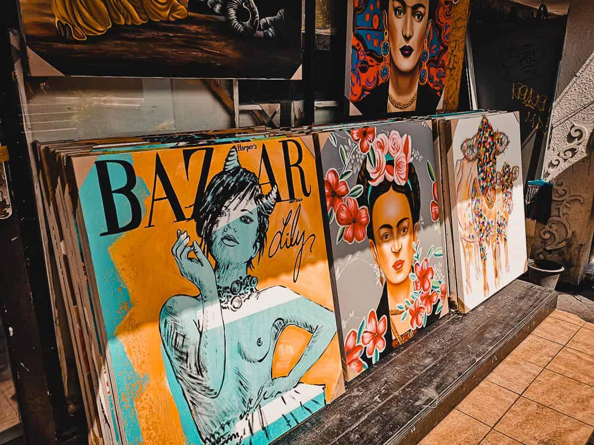 Art in Bali, Indonesia