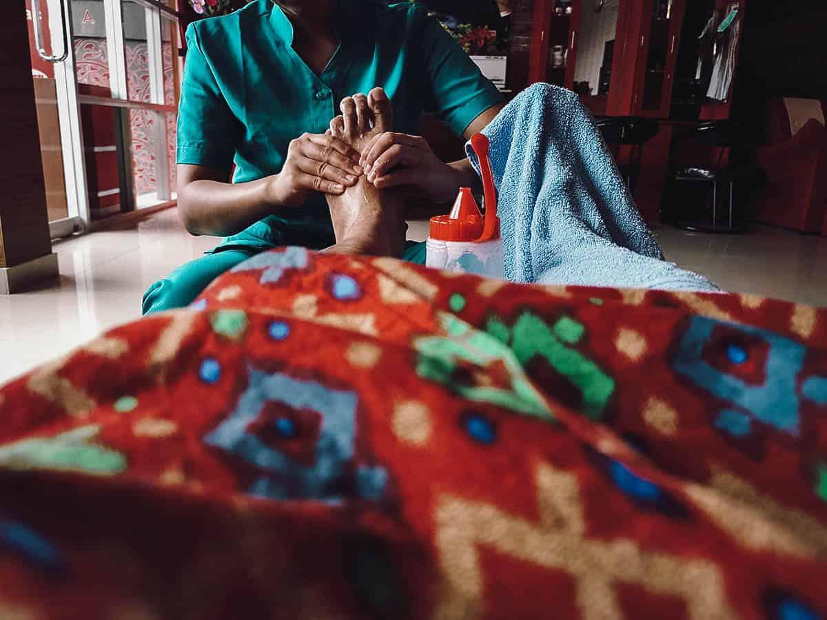 Massage in Ubud, Bali, Indonesia