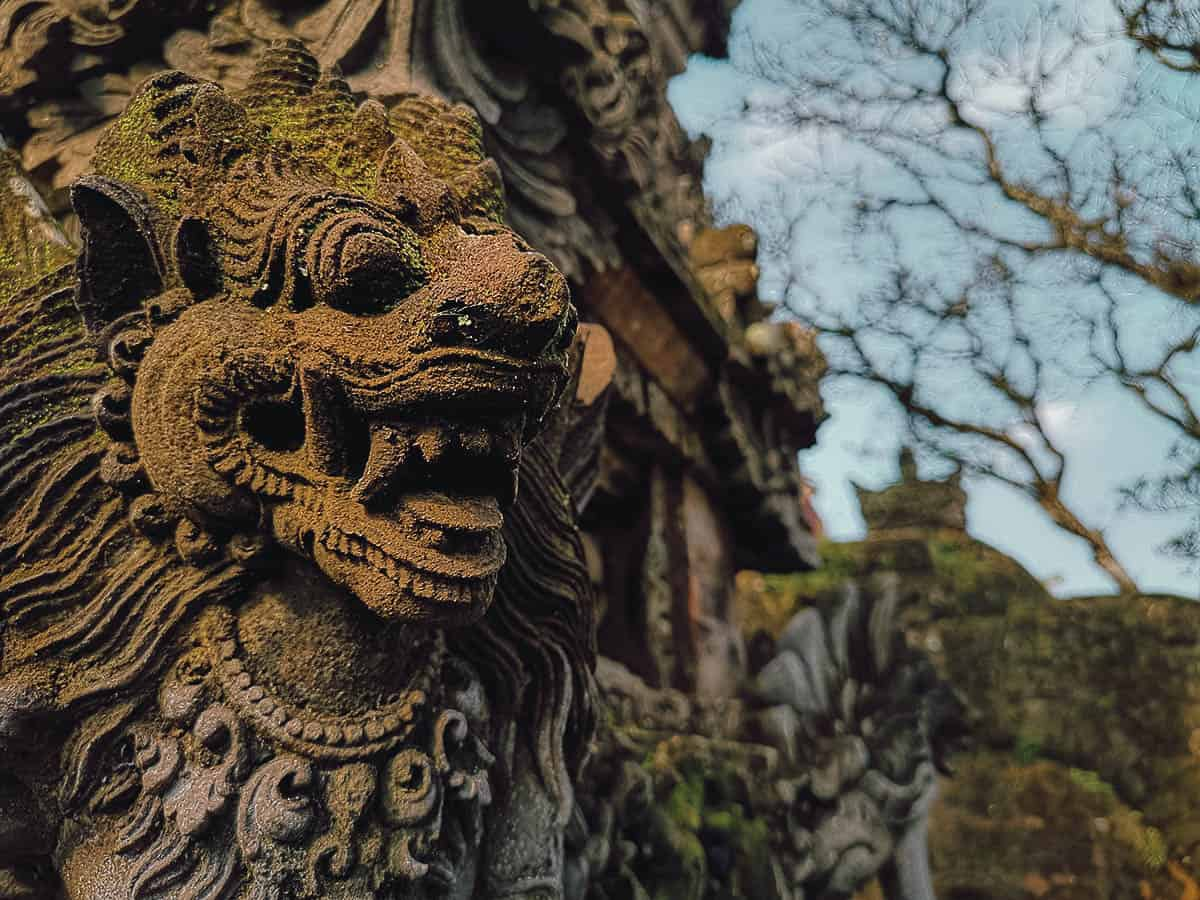 Temples in Ubud, Bali, Indonesia
