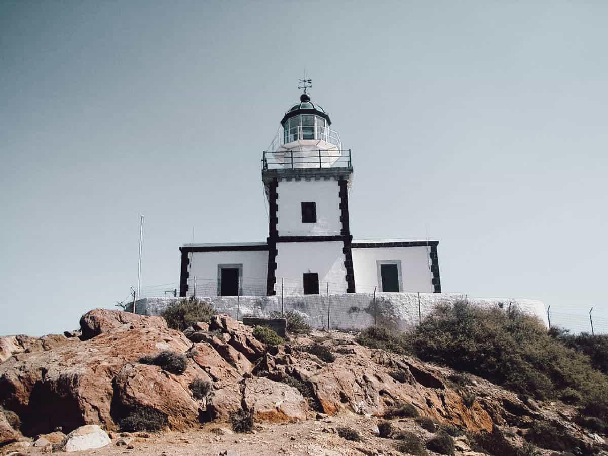 Akrotiri Lighthouse, Santorini, Greece