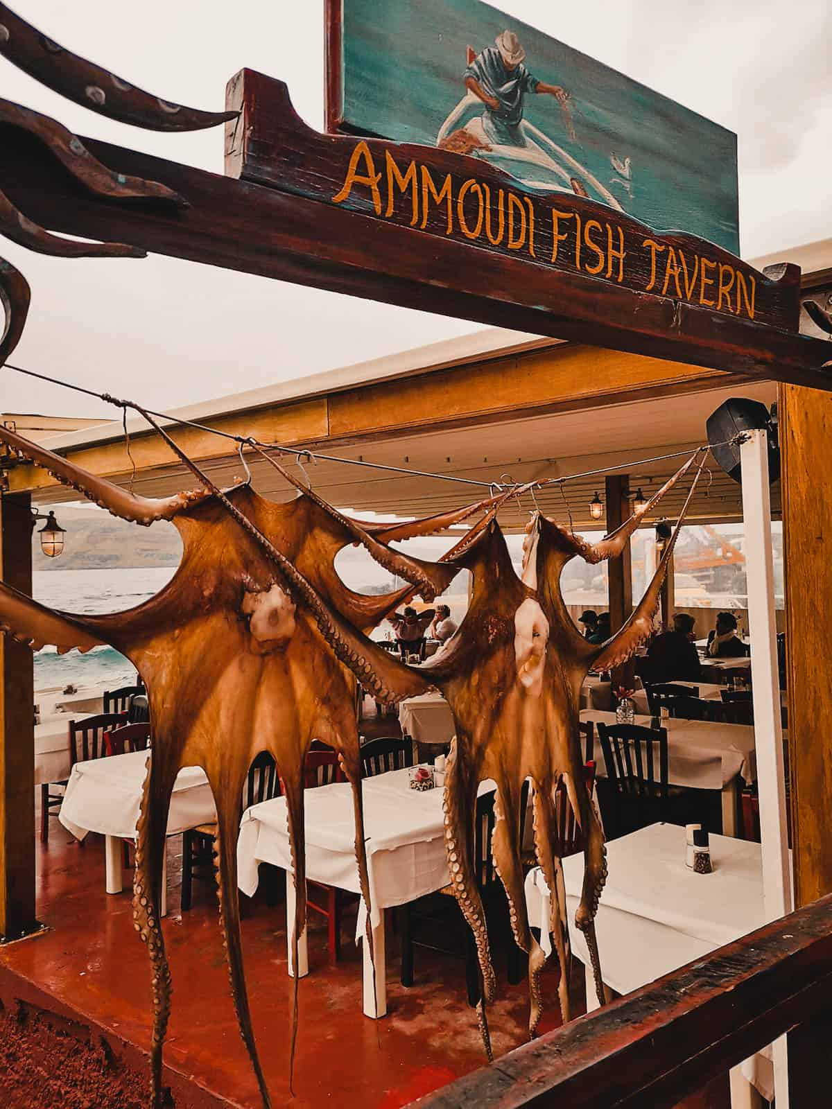 Ammoudi Fish Tavern, Oia, Santorini, Greece