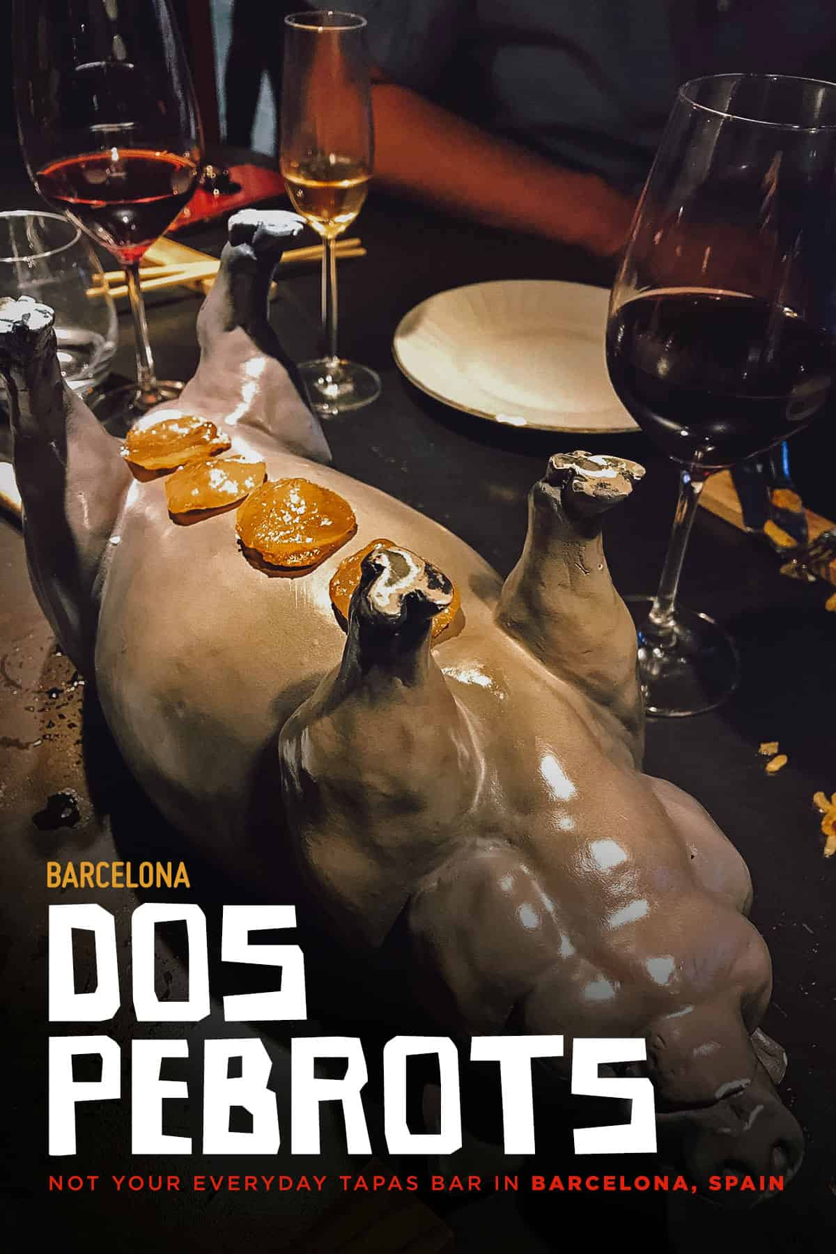 Dos Pebrots restaurant in Barcelona, Spain