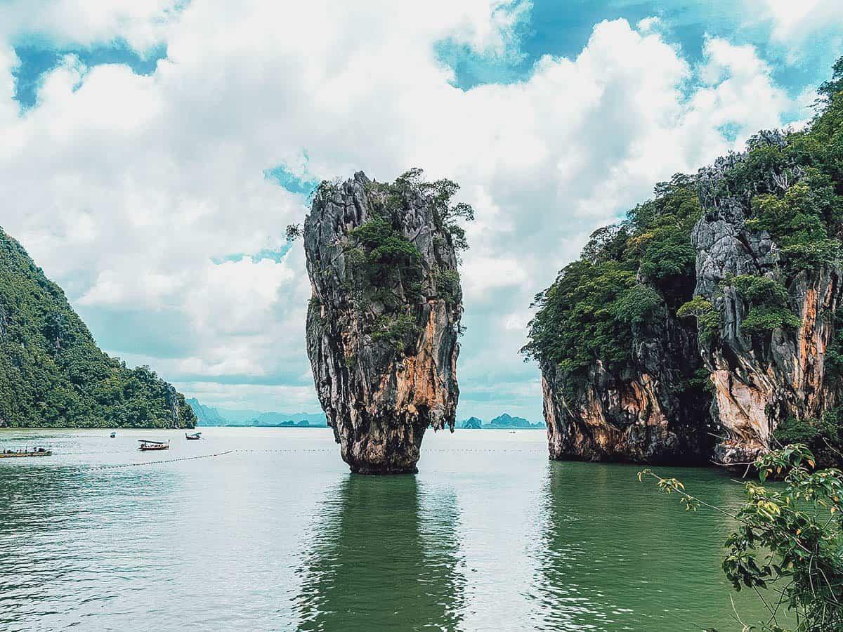 James Bond Island, Phang Nga Bay, Phuket, Thailand