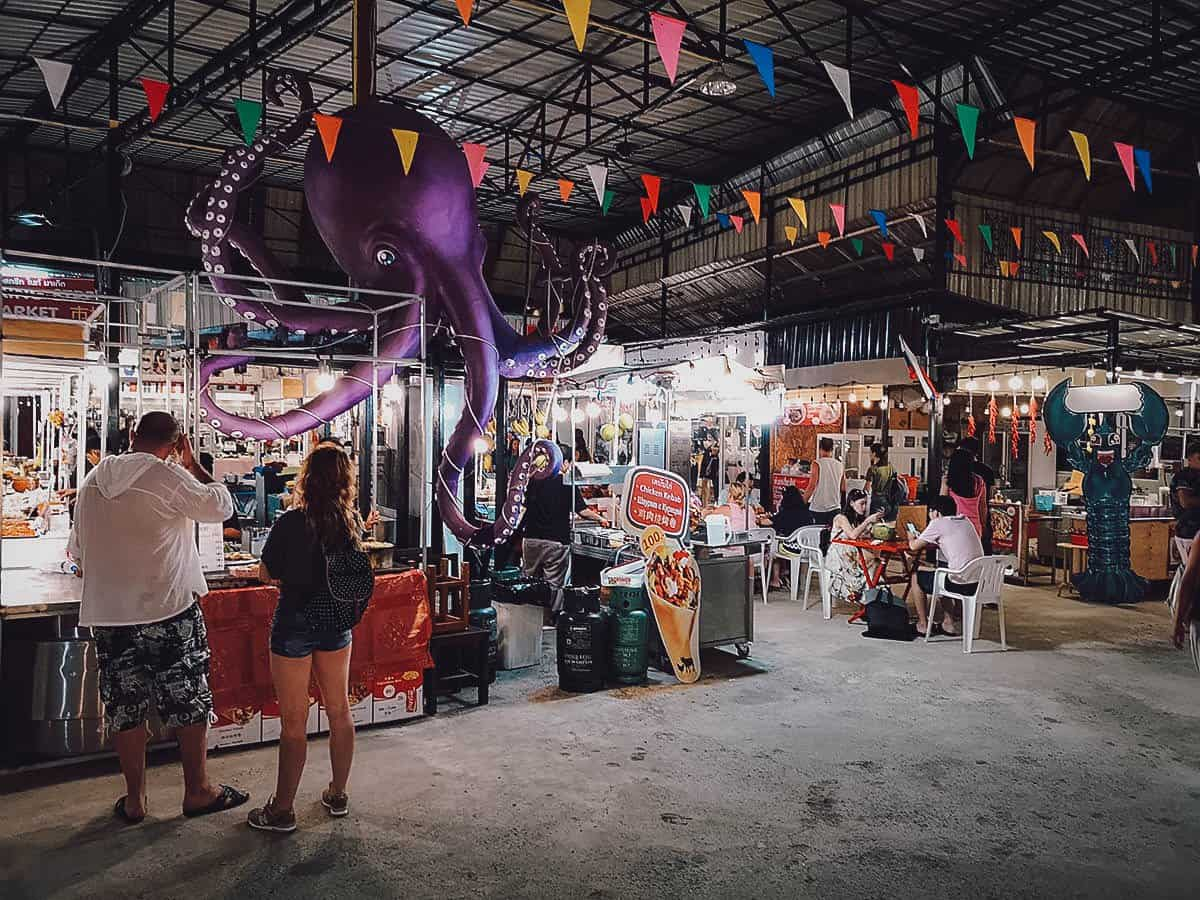 Kata Night Market, Phuket, Thailand