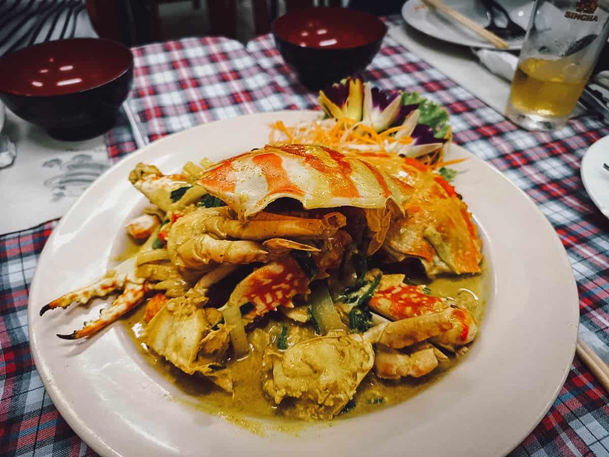 Kwong Shop Seafood, Kata Beach, Phuket, Thailand