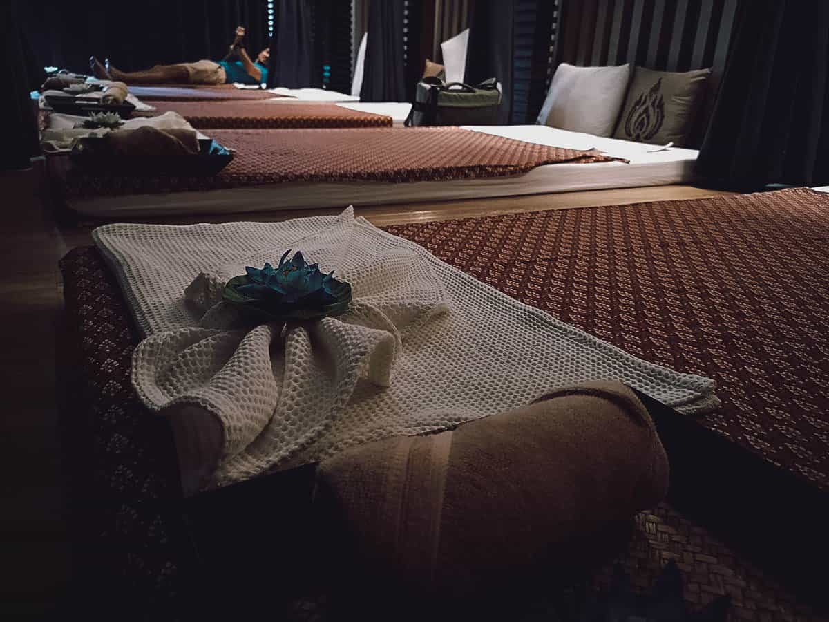 Massage in Bangkok, Thailand