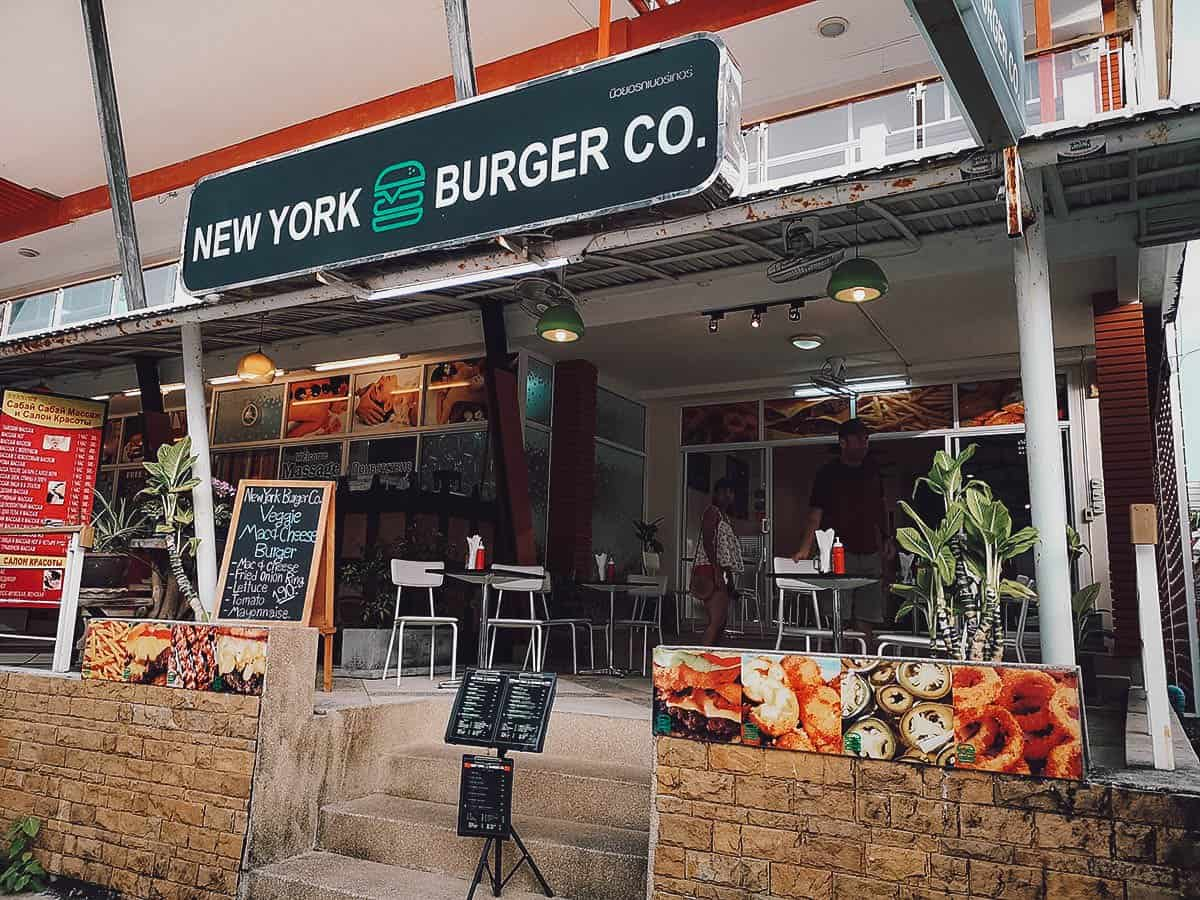 New York Burger Co., Kata Beach, Phuket, Thailand