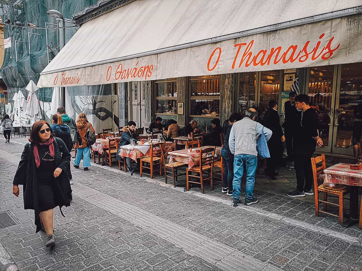 O Thanasis, Athens, Greece